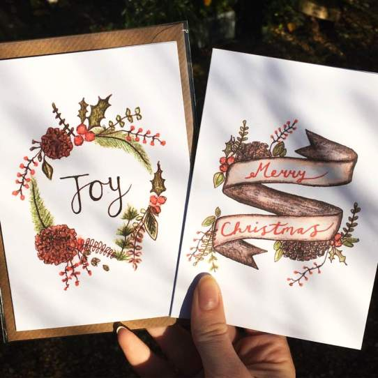 Christmas cards - prints from originals